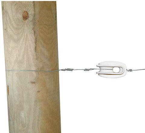 weiß glasfaserverstärkt 25 Stück Abspannisolator