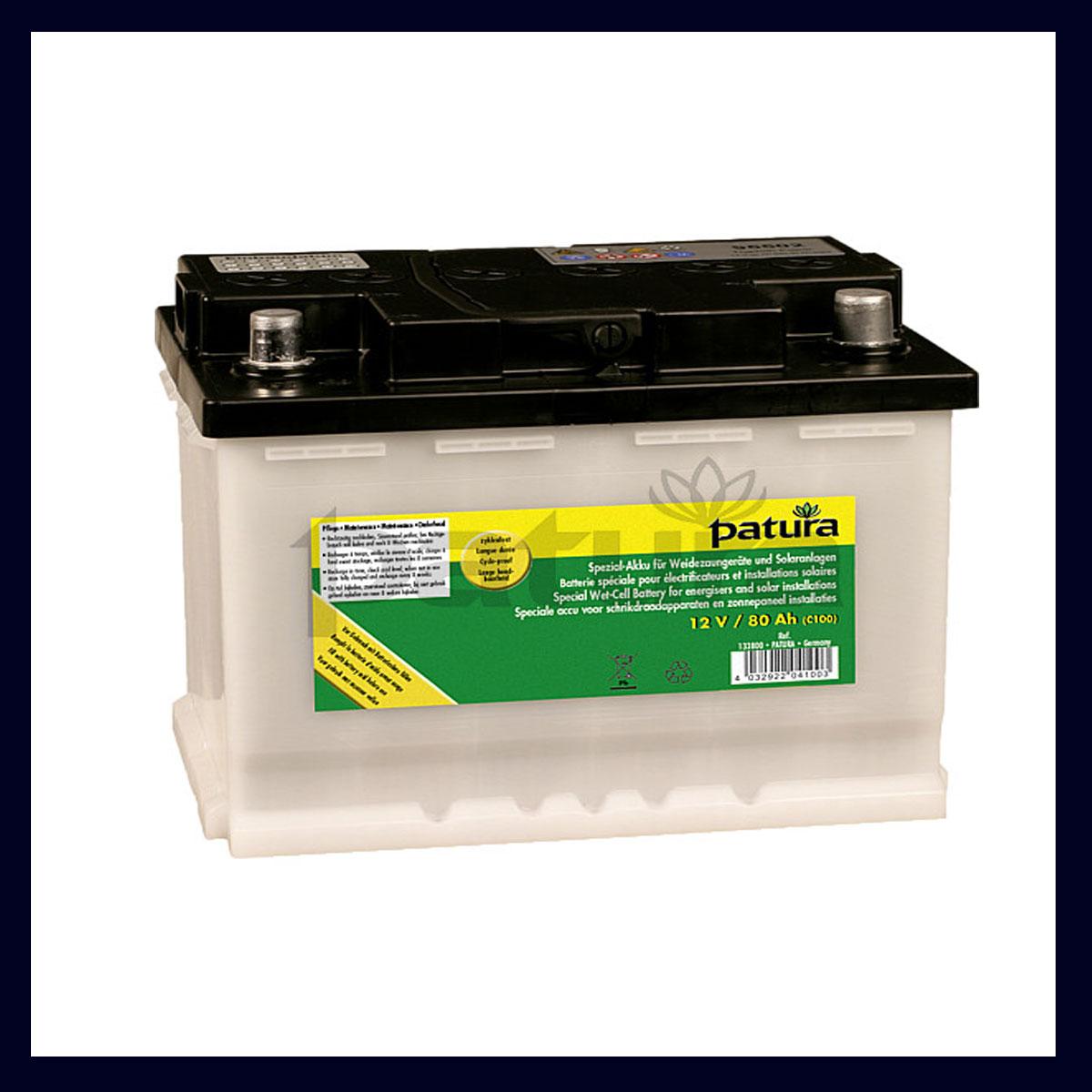 12 Volt Batterien