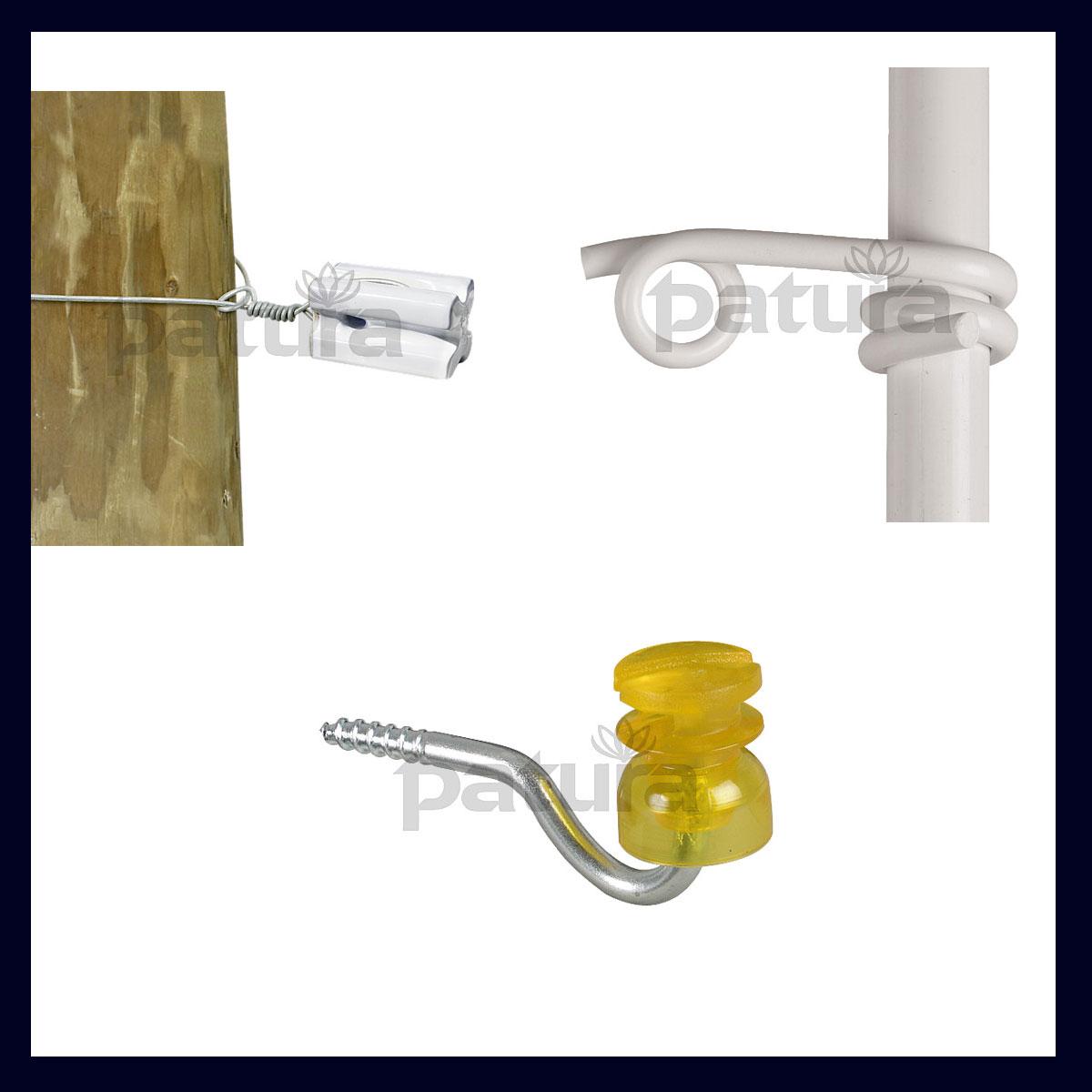 Isolatoren für Seil, Litze, Draht