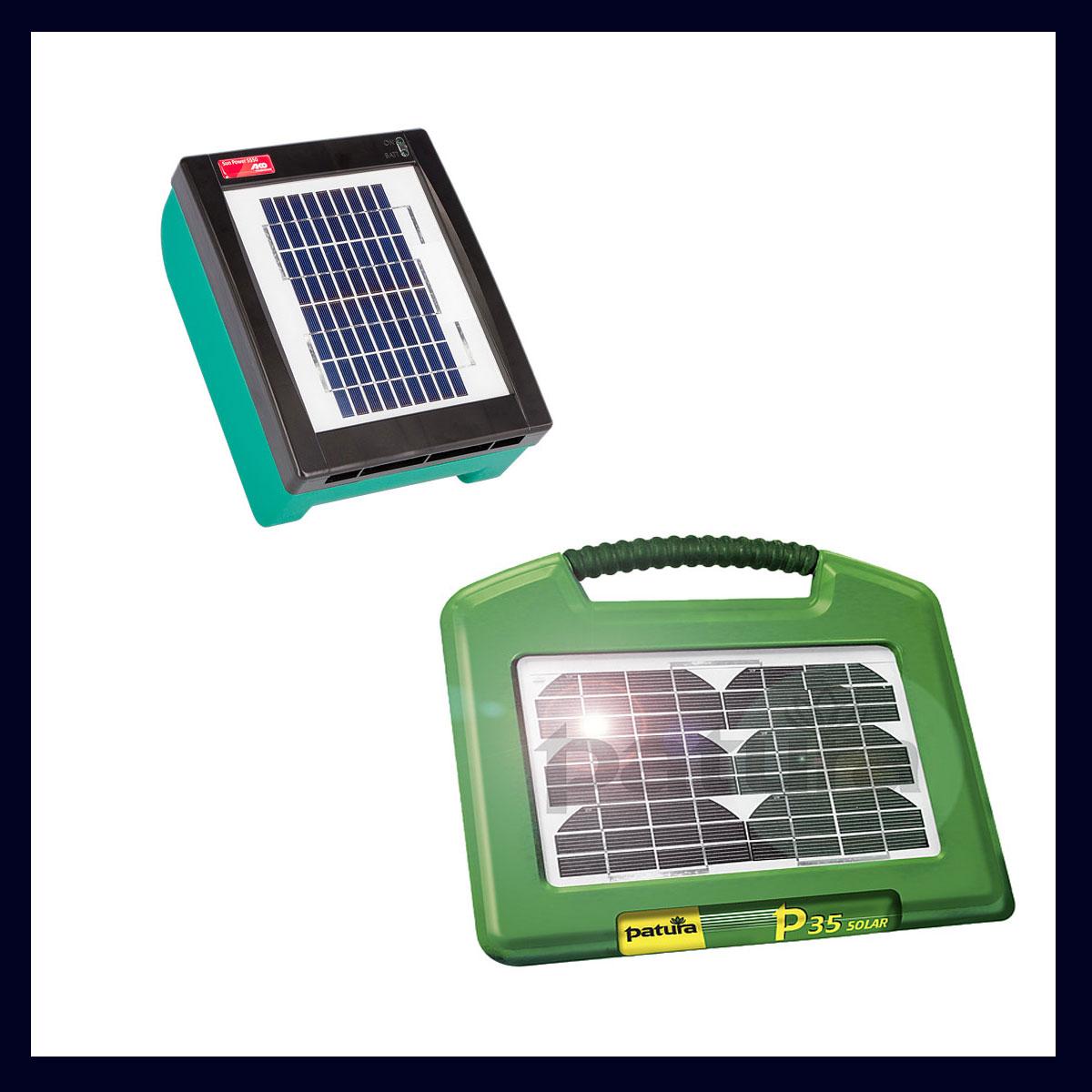 Weidezaungerät Solar